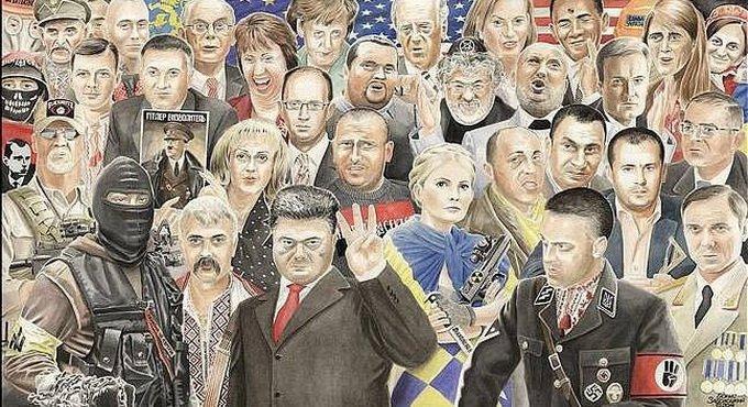Демократия на марше. Журналистов, рассказывающих о бомбежках Донбасса и фашистах на Майдане, будут сажать на 3 года