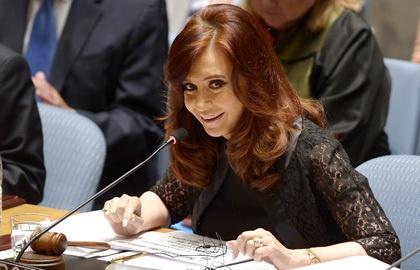 Президент Аргентины госпитализирована с подозрением на инфекцию