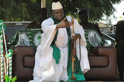 Президент Гамбии ввел пожизненное заключение за гомосексуализм