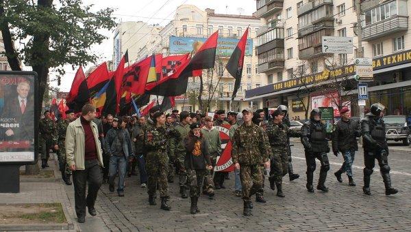 """""""Украинский выбор"""" обвинил Киев в предательстве победы над нацизмом"""