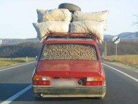 Житель Сибири 4 тысячи километров вёз гумпомощь для Донбасса на своей машине